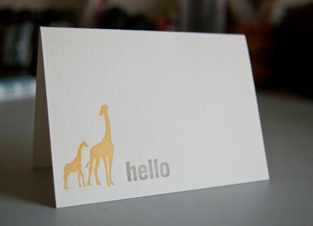 hello giraffes